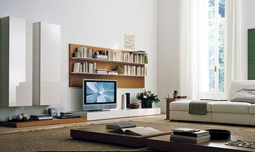 TV meubel in woonkamer