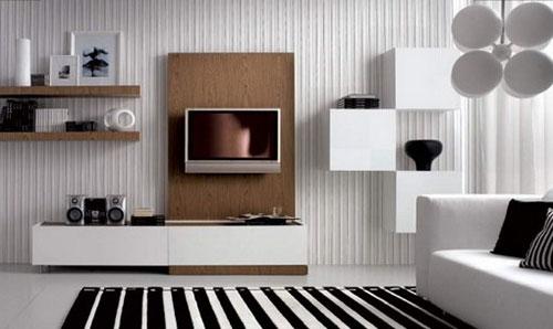 Ideeen Tv Meubel.Tv Meubel In Woonkamer Interieur Inrichting