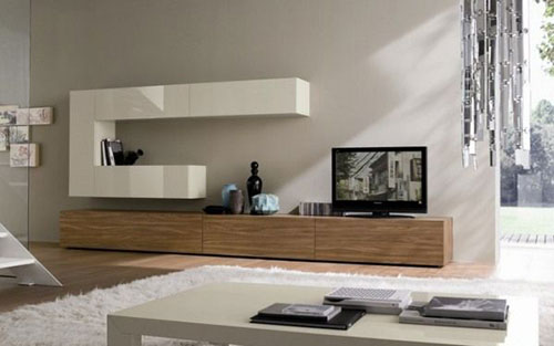 Tv meubel in woonkamer interieur inrichting for Inter meuble soukra