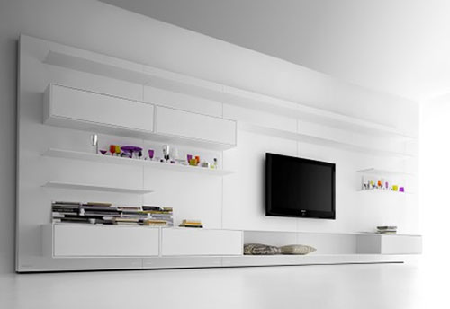 Platte Tv Kast.Tv Meubel In Woonkamer Interieur Inrichting