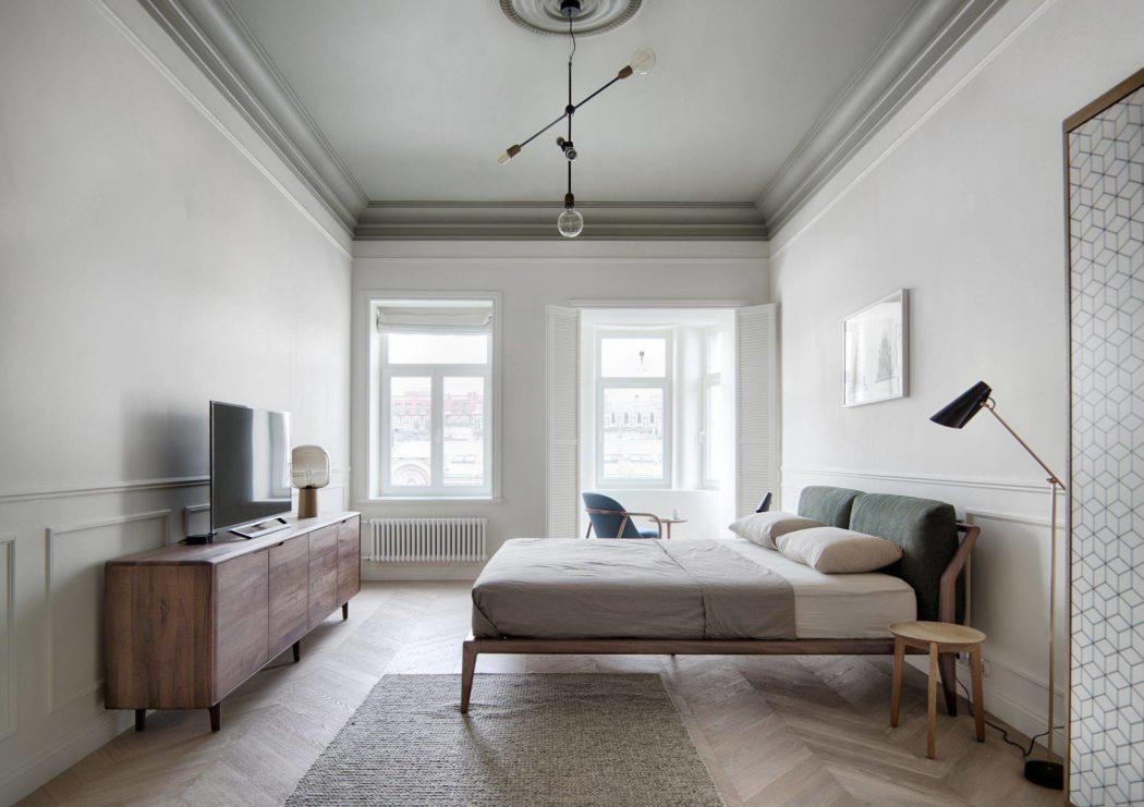TV op houten TV meubel