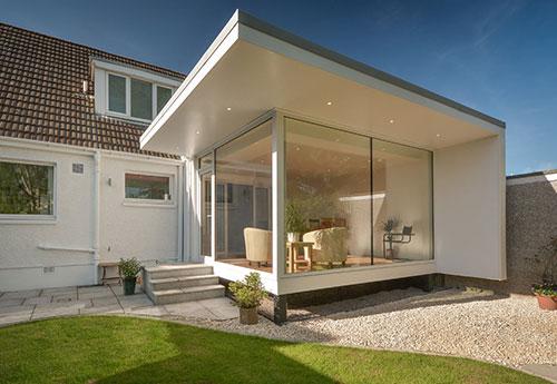 Uitbouw Keuken En Living : Tweede woonkamer uitbouw Interieur inrichting