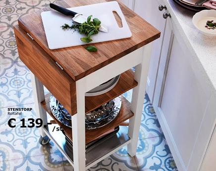 Keuken Met Roltafel : U vormige ikea keuken interieur inrichting