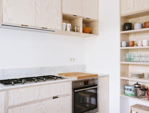 Uitbouw voor keuken en eetkamer