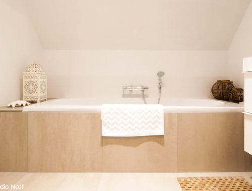 Uitbreiding badkamer door Studio Nest