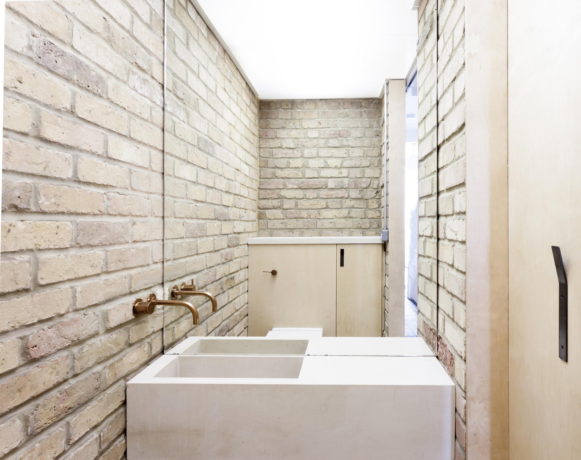 Underlayment toilet  Interieur inrichting
