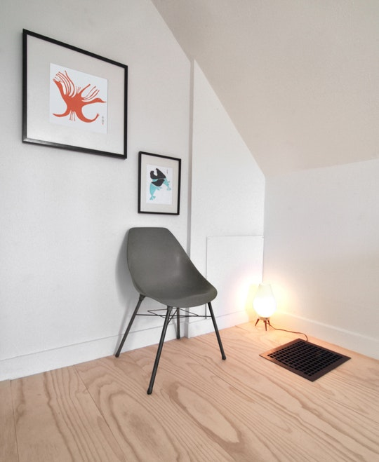 Underlayment vloer in slaapkamer
