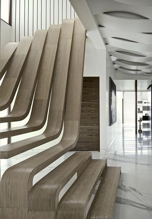 Unieke houten trap interieur inrichting - Interieur houten trap ...