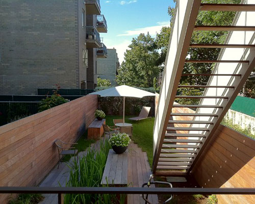 lange smalle tuin