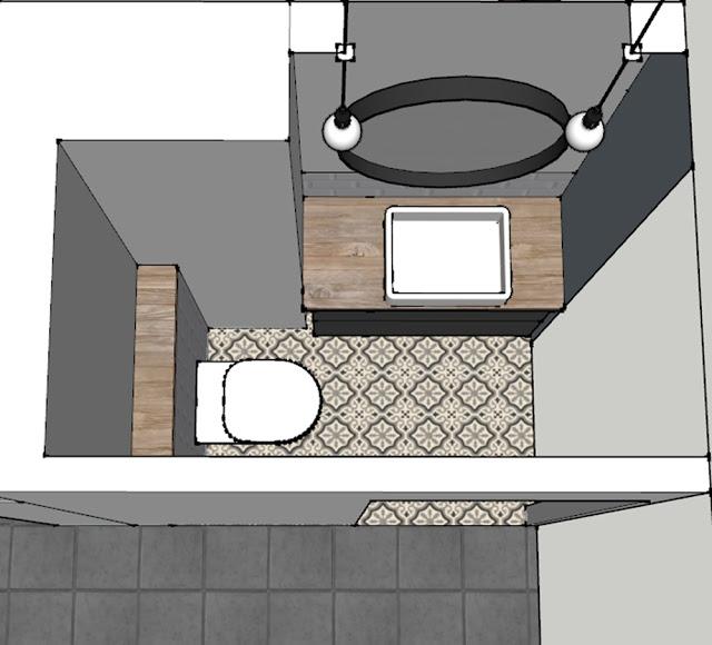 Van kleine badkamer naar groot toilet   Interieur inrichting