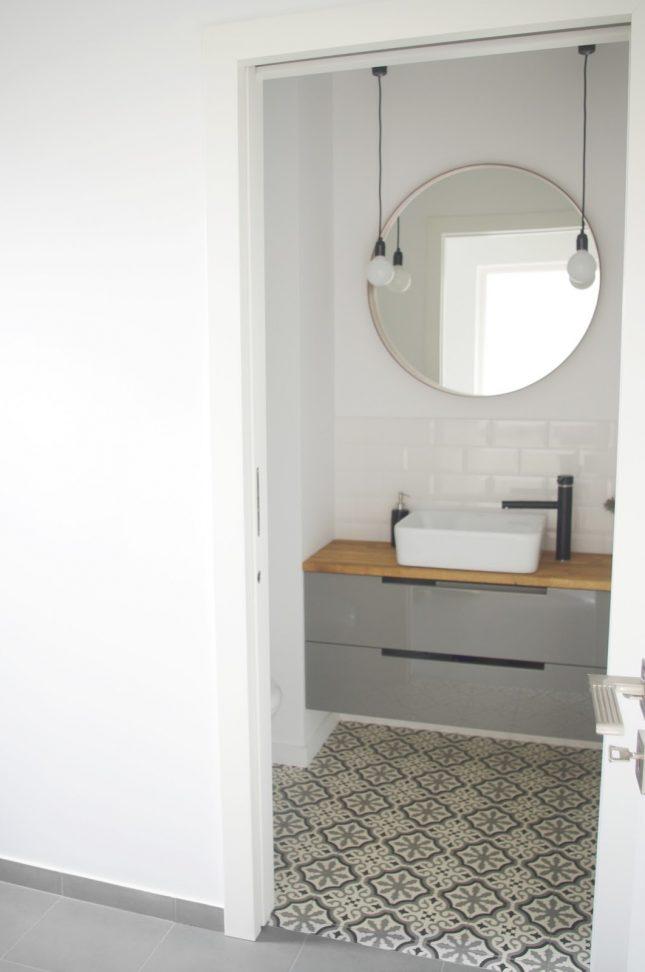 Van kleine badkamer naar groot toilet
