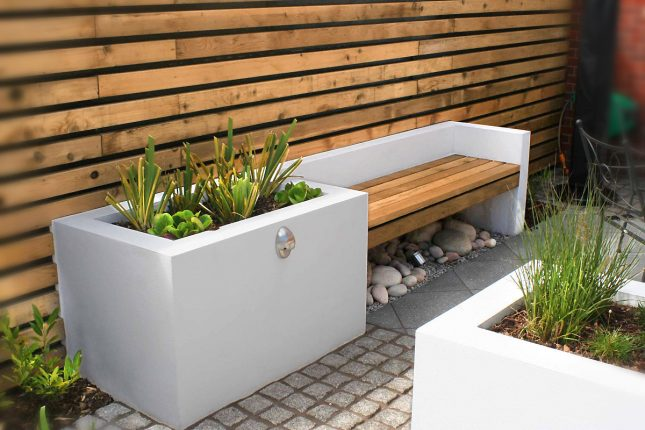 Van vervallen tuin tot luxe moderne tuin