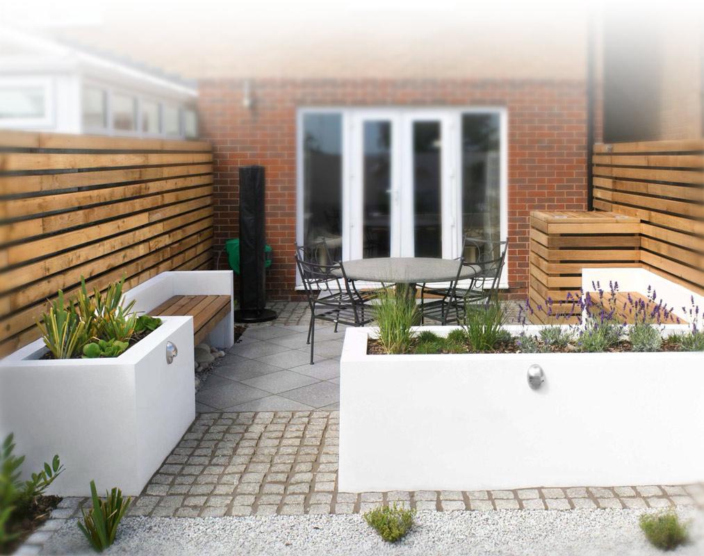 Van vervallen tuin tot luxe moderne tuin interieur inrichting - Tuin interieur design ...