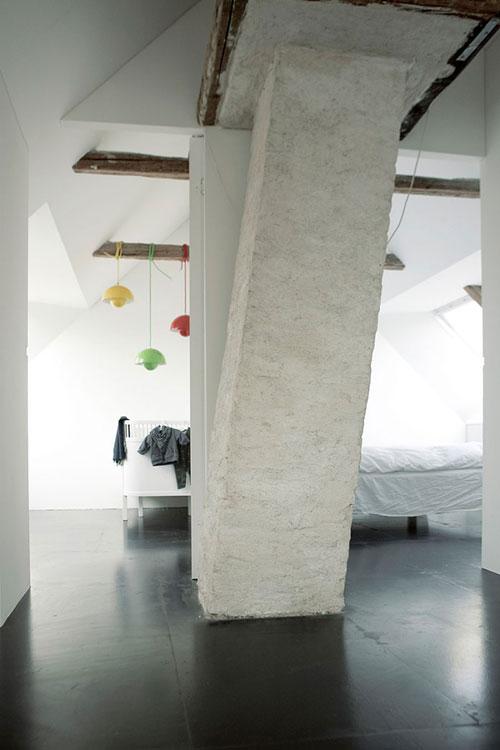 Verbouwde woning van Deense kunstenares