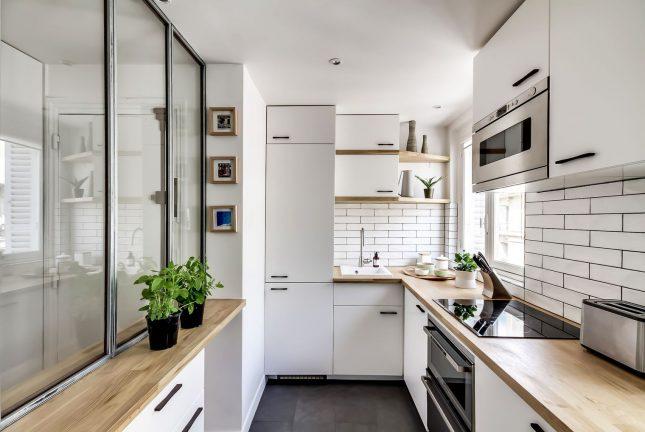 Verbouwing met budget van €35.000 van klein appartement van 38m2
