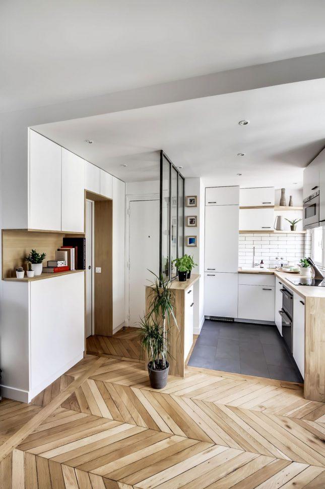 Verbouwing met budget van van klein appartement van 38m2 interieur inrichting - Van interieur appartement ...