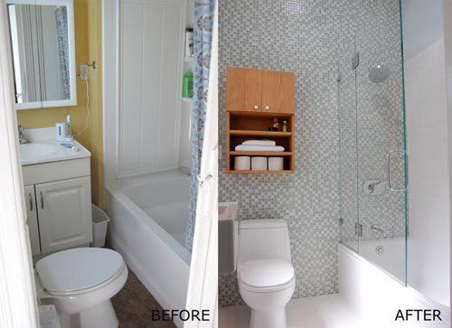 Verbouwing kleine badkamer