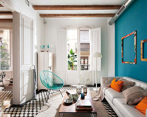 Vintage woonkamer meubels | Interieur inrichting