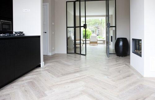 Hongaarse Punt Vloer : Houten vloeren interieur inrichting