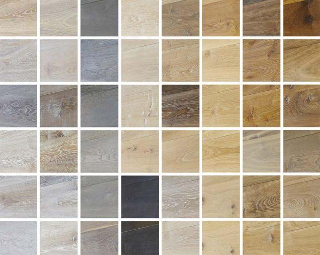 visgraat vloer houtsoorten kleuren