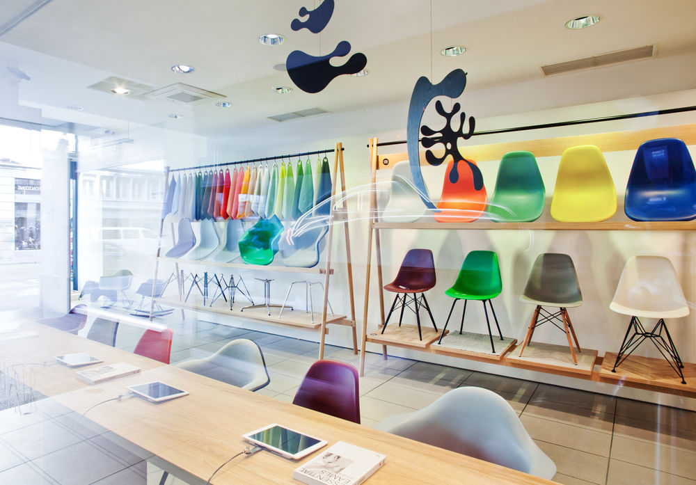 Vitra pop up store amsterdam interieur inrichting for International decor pop