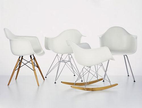 Vitra stoelen interieur inrichting for Ray eames stoelen
