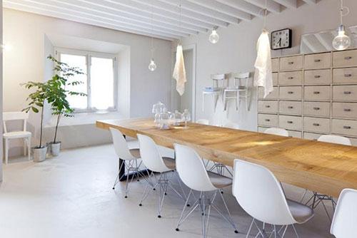 Vitra stoelen interieur inrichting - Eames meubels ...