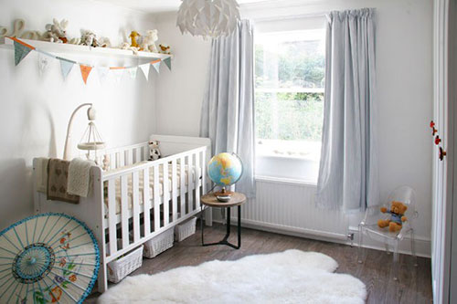 Vloerkleed voor de babykamer interieur inrichting for Simple nursery design