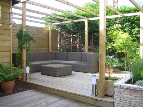 Tuin inrichten: tips en ideeën voor de inrichting van de kleine tuin.