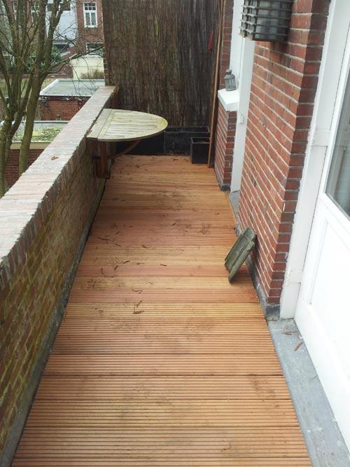 Top Vlonder vloer op balkon | Interieur inrichting LE81