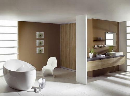 Voorbeelden badkamers