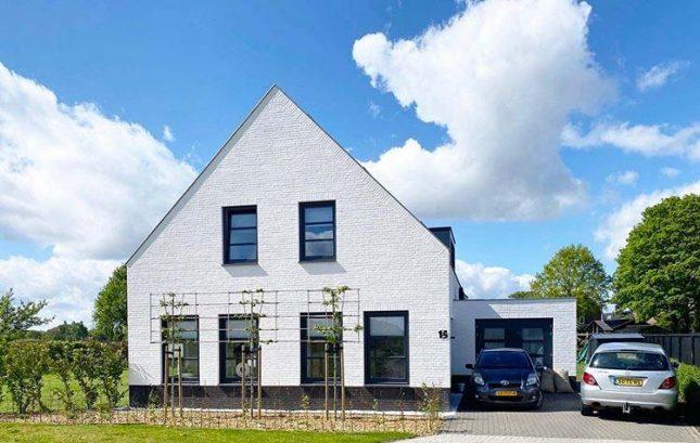 voortuin ontwerp vrijstaande woning met oprit