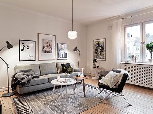 Wanddecoratie woonkamer interieur inrichting - Idee schilderij living ...