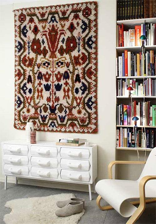 Wanddecoratie woonkamer  Interieur inrichting