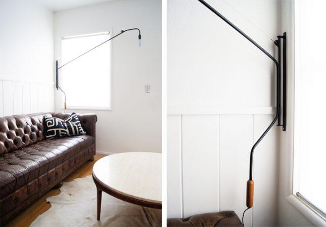 Woonkamer Wandlamp : ... wandlamp lamp boven de bank wandlamp wandlamp ...