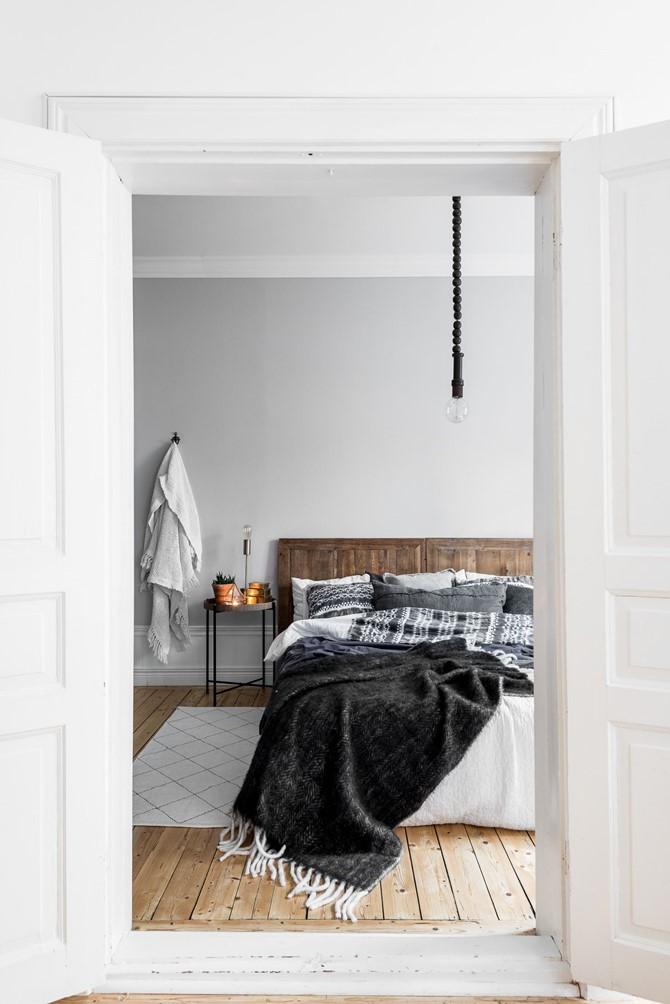 Warme knusse winter slaapkamer inrichten