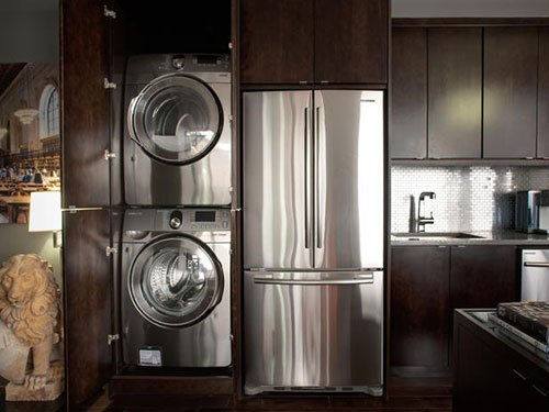 Wasmachine In Keuken Interieur Inrichting