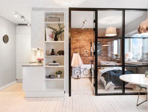 Paarse Slaapkamer Inrichten : Luxe paarse slaapkamer interieur inrichting