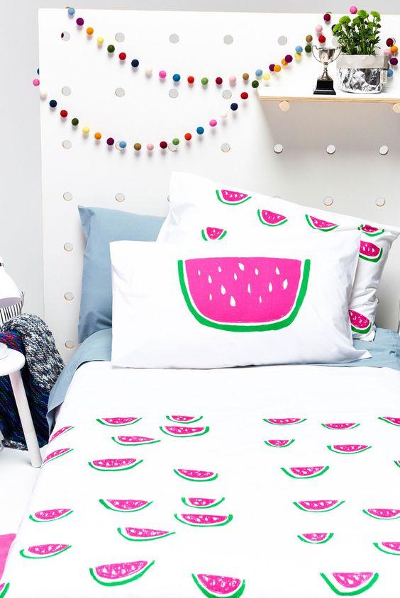 watermeloen-dekbed