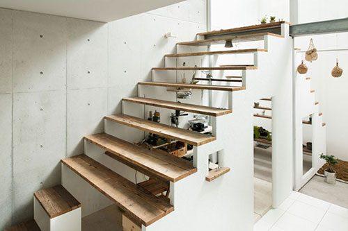 Werkplek onder de trap