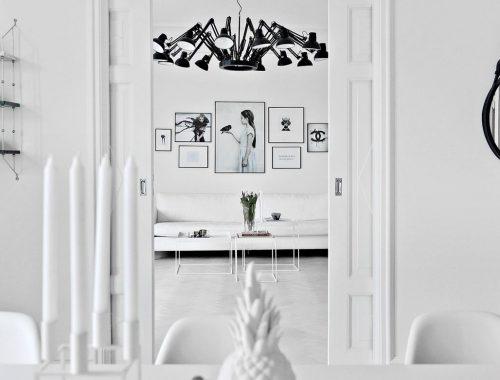 Brandblokken In Interieur : Warme tinten in een wit interieur interieur inrichting