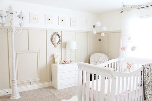 Witte babykamer
