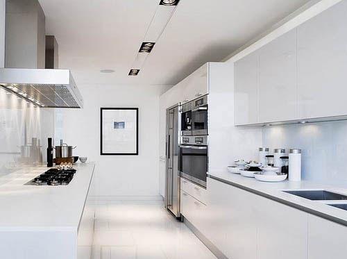 Witte Keuken Ideeen : Witte keuken