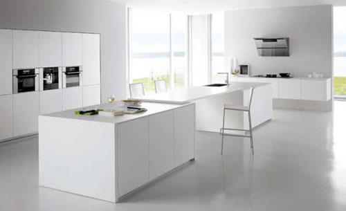 Witte keuken beige vloer unieke welke kleur vloer bij witte
