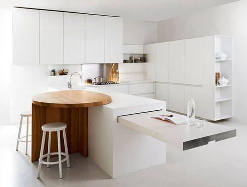 Witte keuken van Elmar