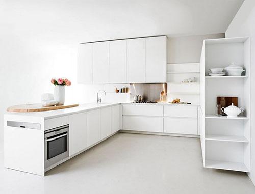 Witte keuken donkere vloer ~ consenza for .