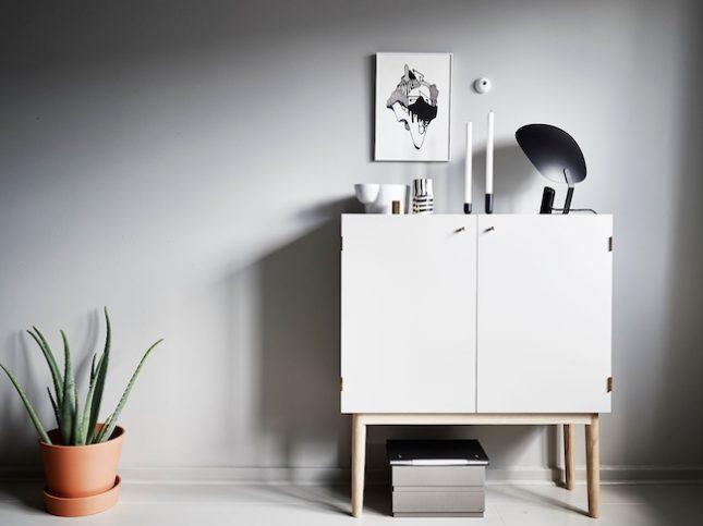 Witte Scandinavische dressoir