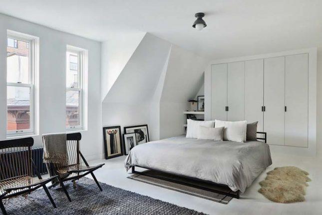 witte slaapkamer warm knus