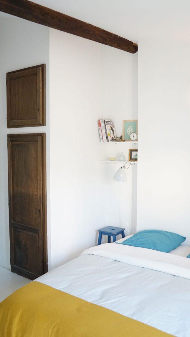 Witte vintage slaapkamer van Anne