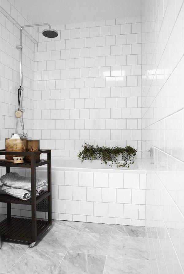 Witte wandtegels badkamer inspiratie
